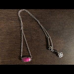 Pink Kendra Scott Elisa Necklace
